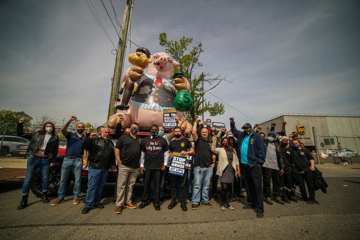 unloved-work-teamsters-gather-in-queens-to-support-laid-off-ups-employees