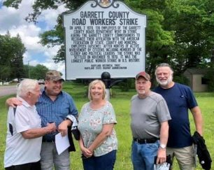 marker-commemorates-the-garrett-countys-road-workers-strike-in-1970-news