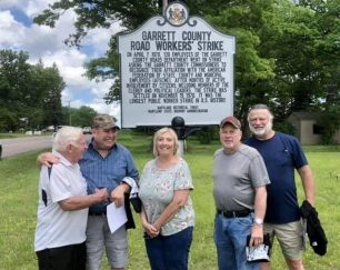 the-garrett-road-strike-markers-dedication-attracts-great-turnout-local-news