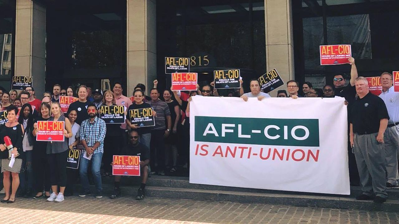 nea-and-afl-cio-are-faced-with-staff-revolts-as-employees-denounce-anti-union-tactics