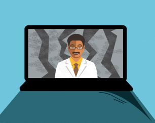 the-pandemic-made-telemedicine-an-instant-hit-patients-and-providers-feel-the-growing-pains