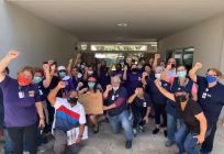 Workers at the University of Miami are demanding higher wages and better working conditions