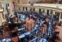 State Capitol reopens as Virginia lawmakers convene for a special session focused on delivering COVID aid